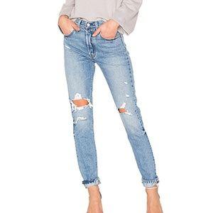 Levi's 501 high rise skinny jean